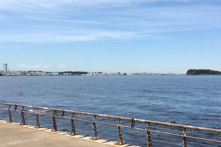 馬堀海岸の景色
