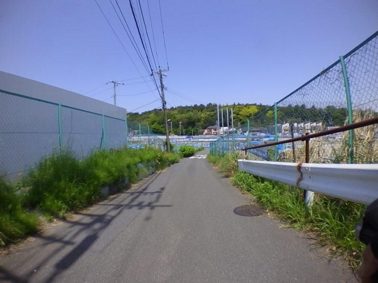 新西湘バイパスへの抜け道