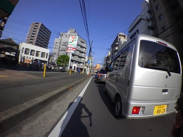 大和駅近く
