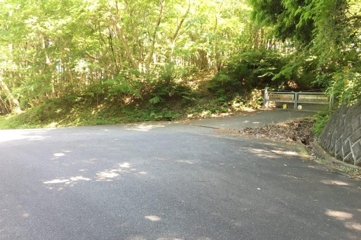 浅間山林道入口
