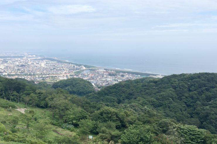 湘南方面の眺望