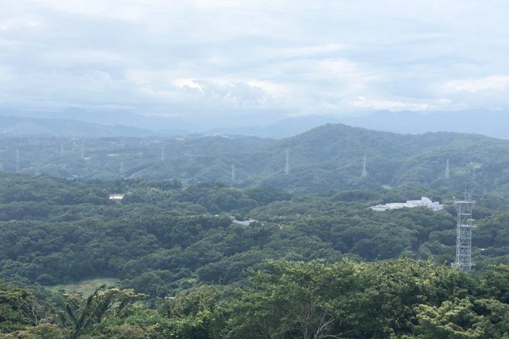 丹沢方面の眺望