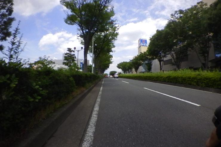 普段よく通る道