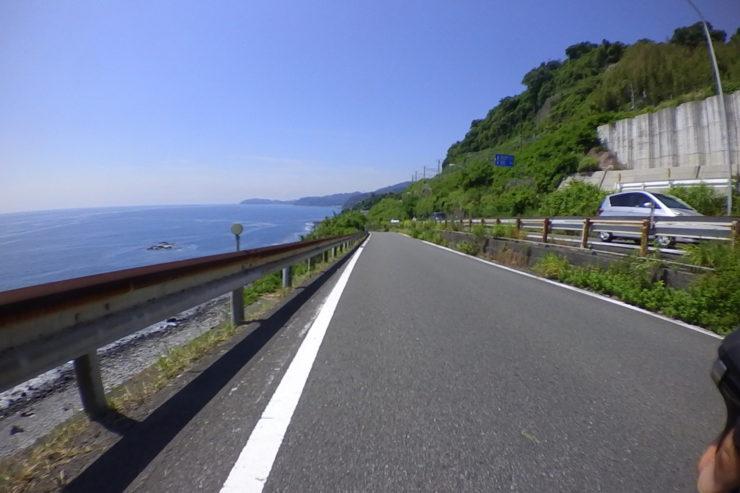 伊豆の海岸線
