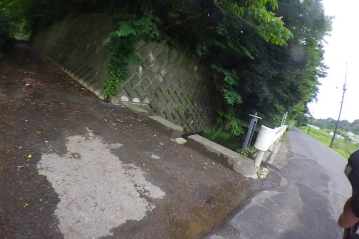 磯野池入口