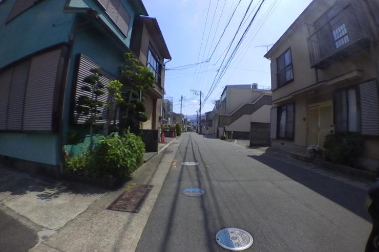 小田原市内裏道