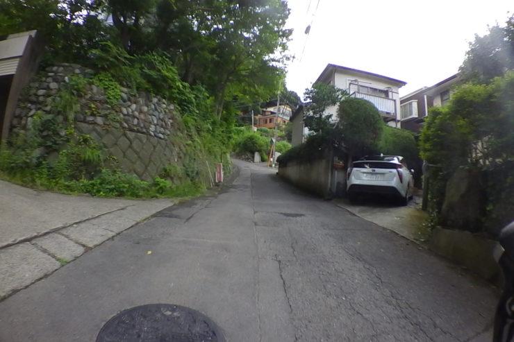 隣の住宅街