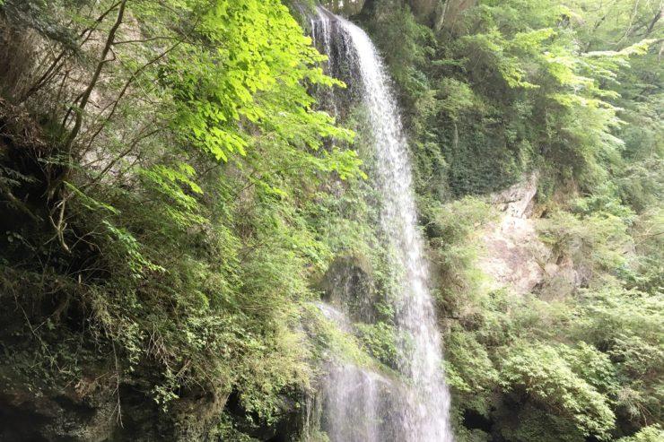 夕日の滝2