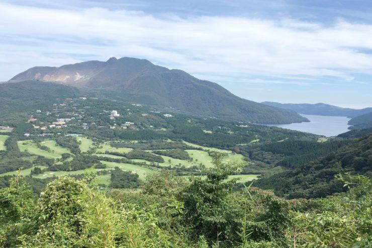 芦ノ湖と小涌谷