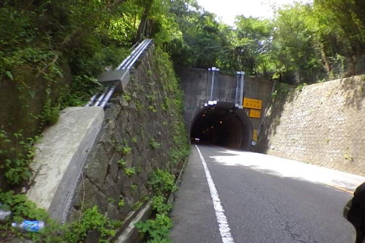 乙女トンネル入口