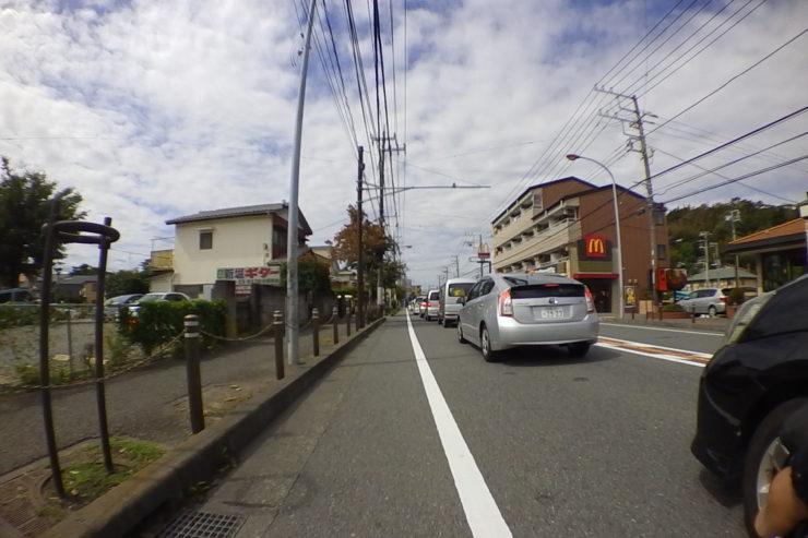 小規模渋滞