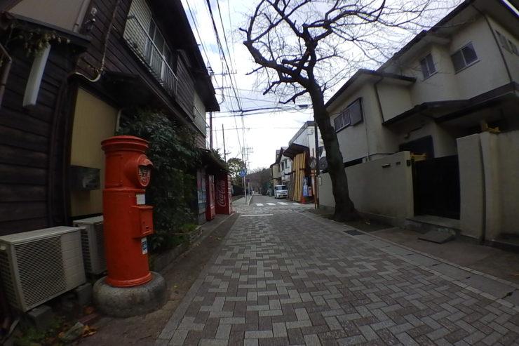 レンガの道