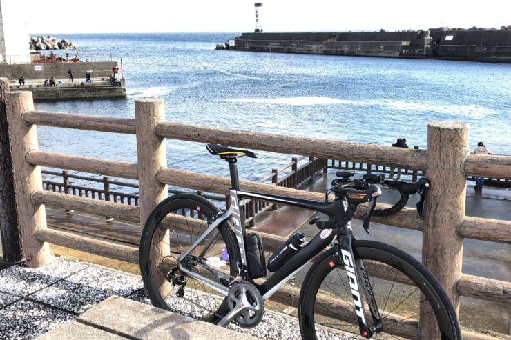 小田原漁港での休憩