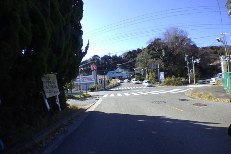 鎌倉霊園入口