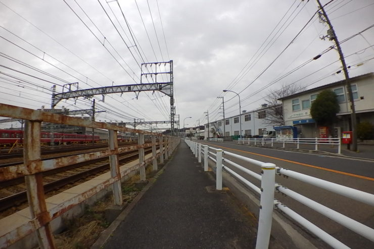 京浜急行沿い