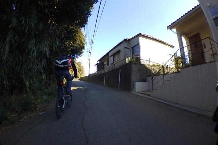ミニベロ風自転車