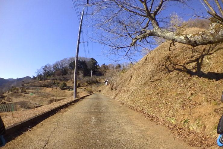 脇道の農道