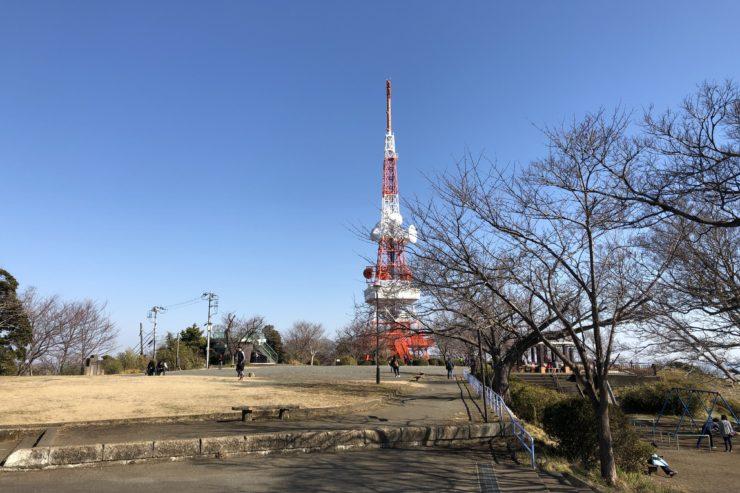 湘南平の鉄塔