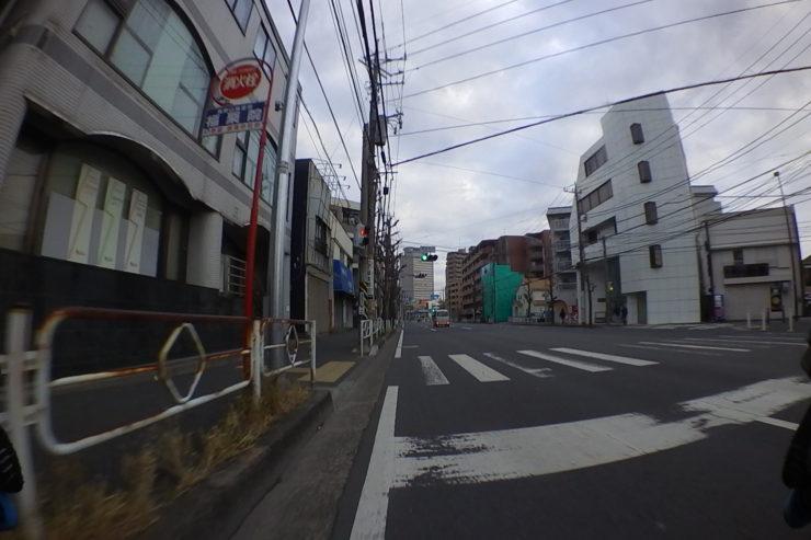 空いた鎌倉街道