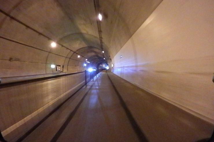国際村手前トンネル
