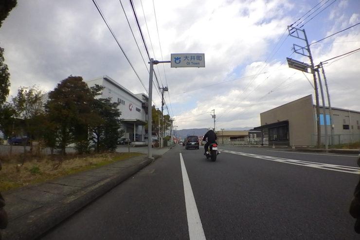 大井町へ入った