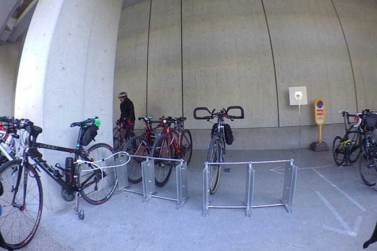 スポーツバイク専用ラック