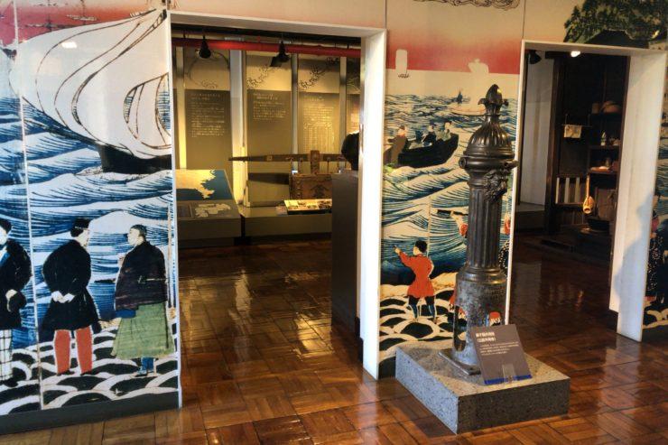 横浜水道記念館の展示物