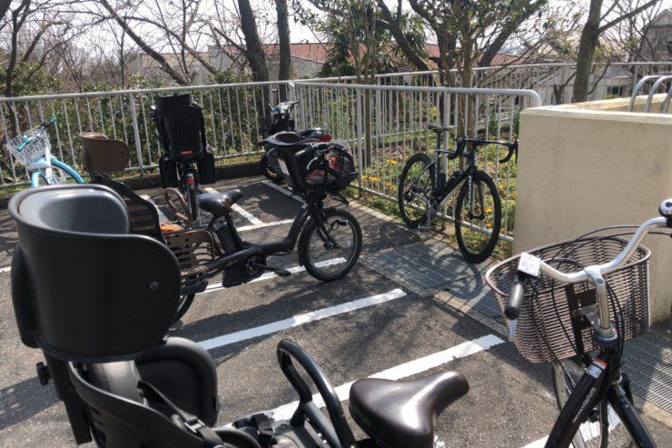 金沢自然公園駐輪場