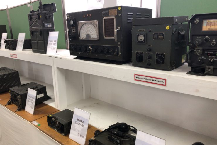 旧陸海軍の通信機