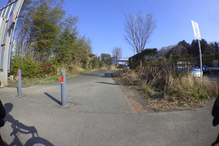 環状2号線の歩道