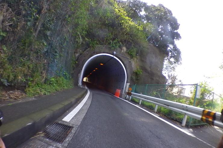走水のトンネル