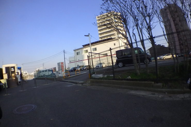 三笠公園での駐輪