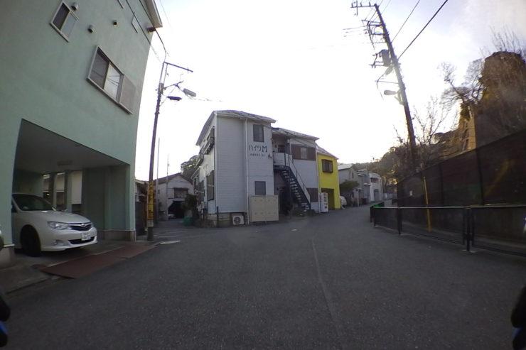 浄土寺への道