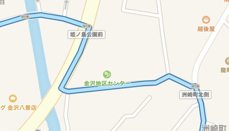 STRAVA地図