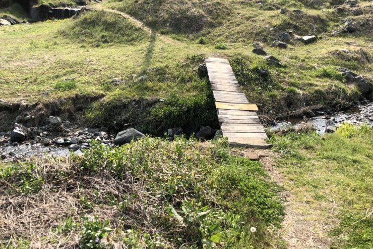 手作りの橋