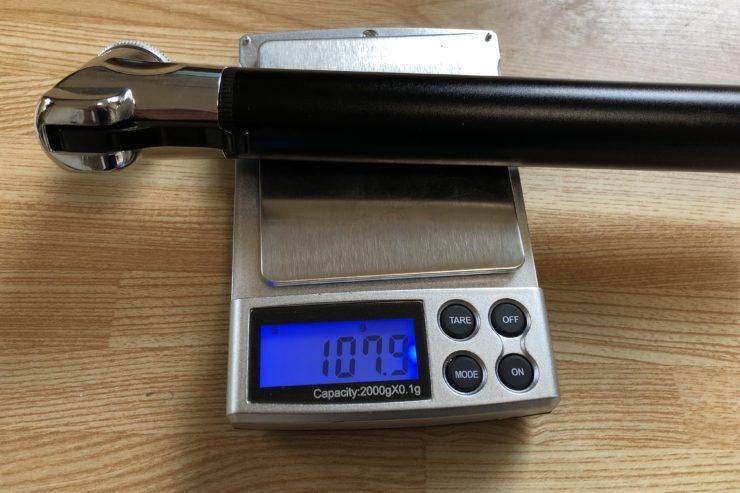 例のポンプ重量