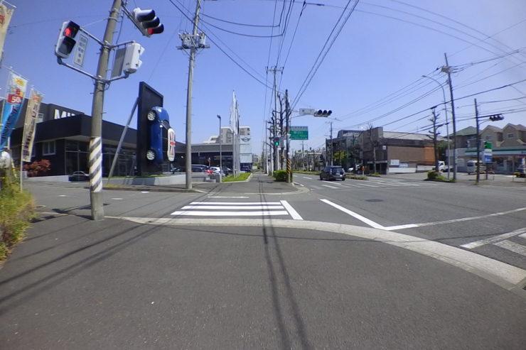 広めの歩道