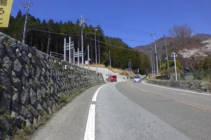 新笹子隧道迂回路入口