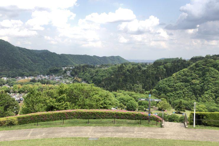 あいかわ公園からの景色