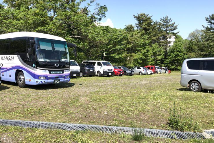 TOJ富士山ステージ臨時駐車場