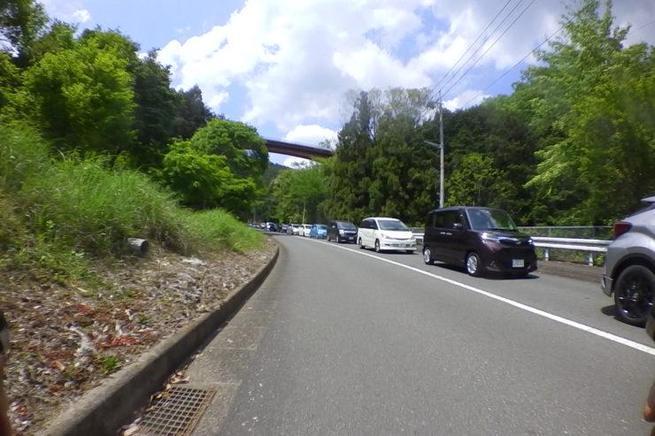 あいかわ公園への渋滞