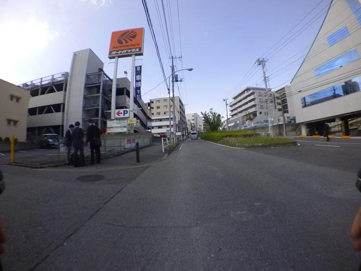東戸塚駅前の坂