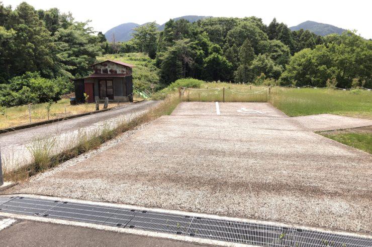 河村城跡駐車場
