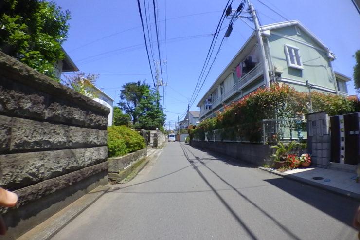 藤沢駅近くの住宅街