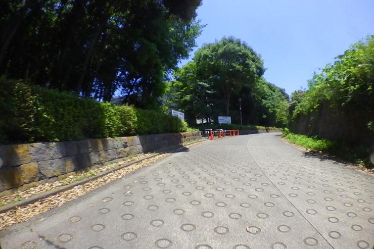 慶応義塾大学の外周