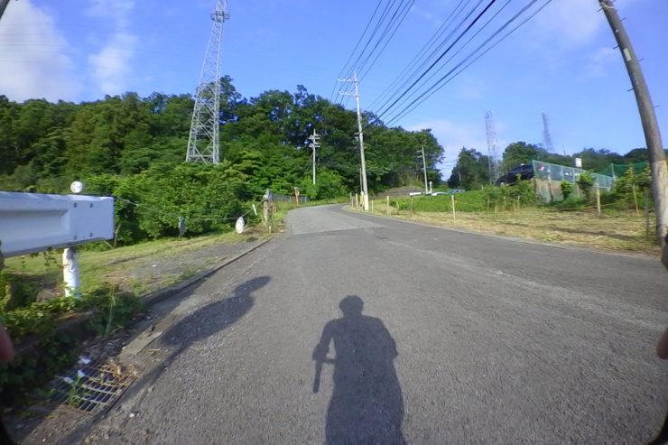 丘越えの道