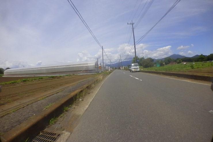 ヤビツ方面への裏道