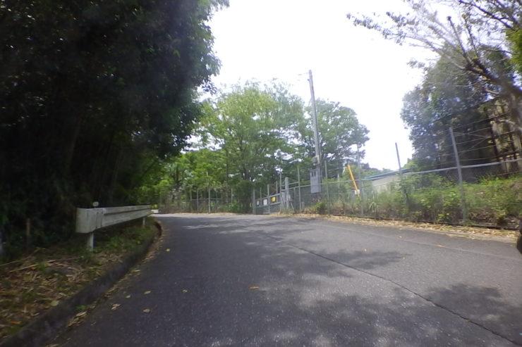 中井PAのフェンス