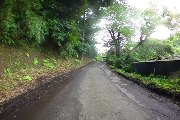 地元の裏道