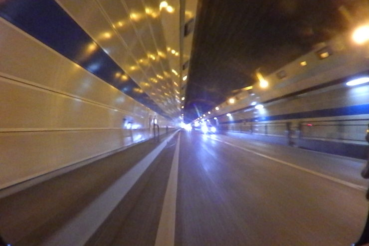 平塚のトンネル
